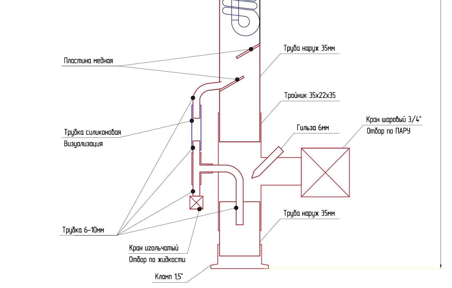 Alek polek схема бражной колонны